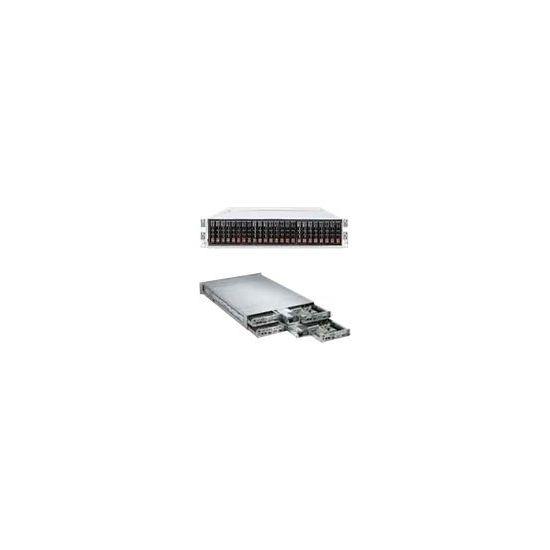 Supermicro A+ Server 2122TG-HIBQRF - rack-monterbar - uden CPU - 0 MB - 0 GB