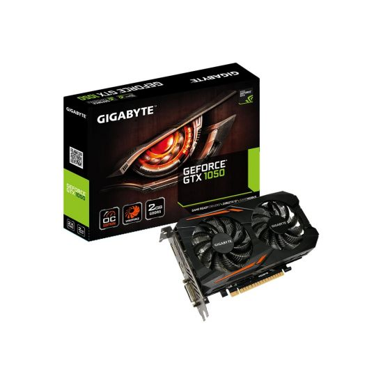 Gigabyte GeForce GTX1050 OC - 2GB