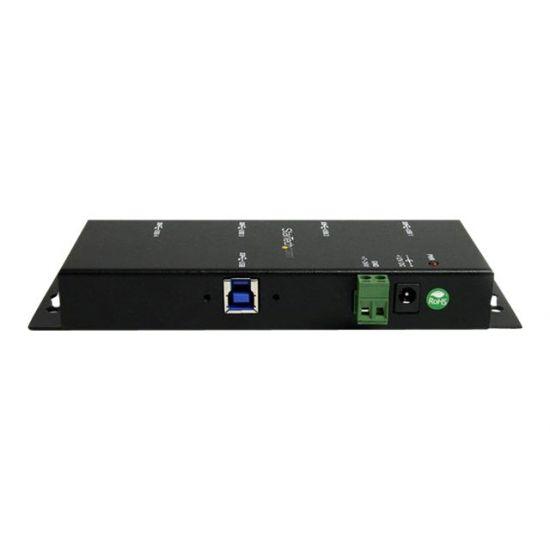StarTech.com 4 Port Industrial USB 3.0 Hub Mountable