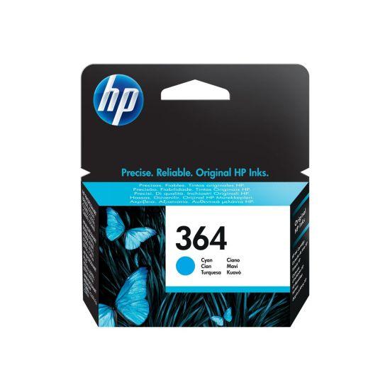 HP 364 - cyan - original - blækpatron