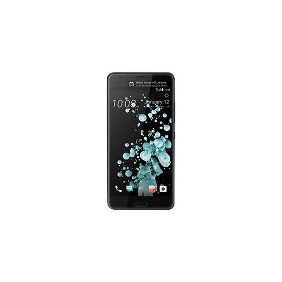 HTC U Ultra - lysende sort - 4G LTE - 64 GB - GSM - smartphone