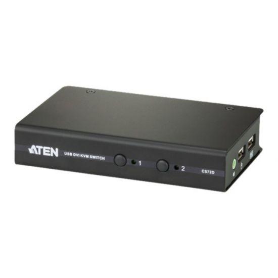 ATEN CS72D - KVM / audio-switch - 2 porte