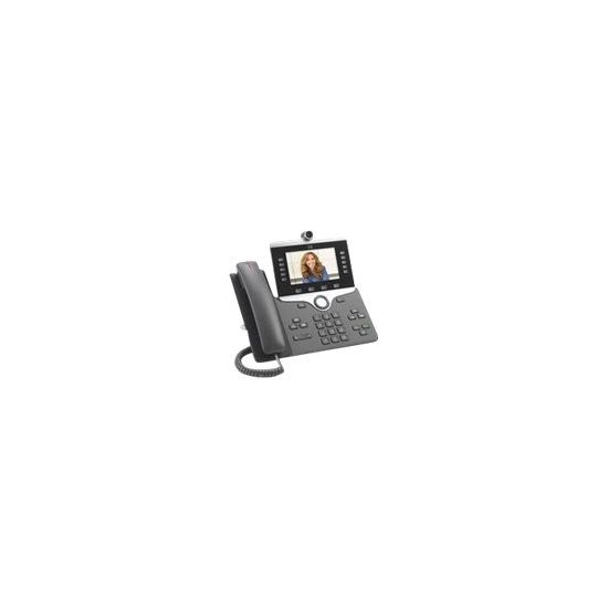 Cisco IP Phone 8865 - IP-videotelefon - digitalkamera, Bluetooth-interface