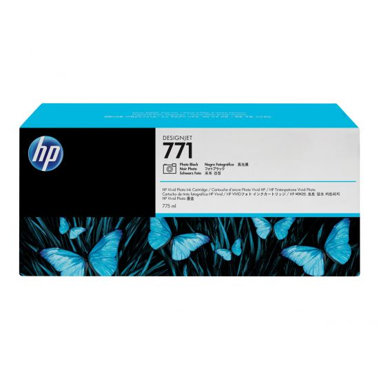 HP 771 - foto-sort - original - blækpatron