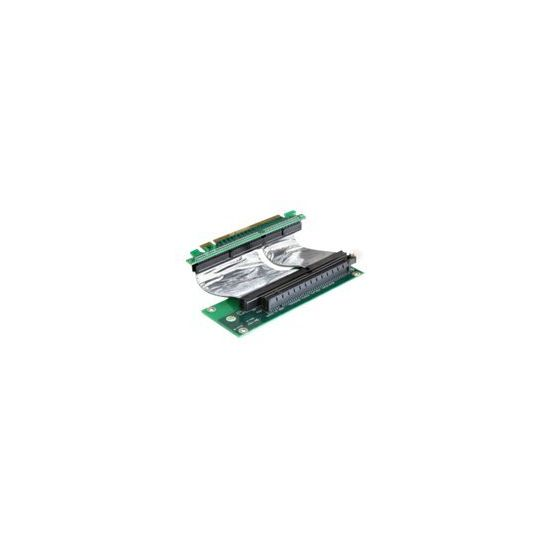 DeLOCK Riser card PCI Express x16 with flexible cable right insertion - udvidelseskort