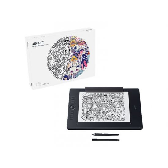 Wacom Intuos Pro Large - Paper Edition - digitizer - USB, Bluetooth - sort