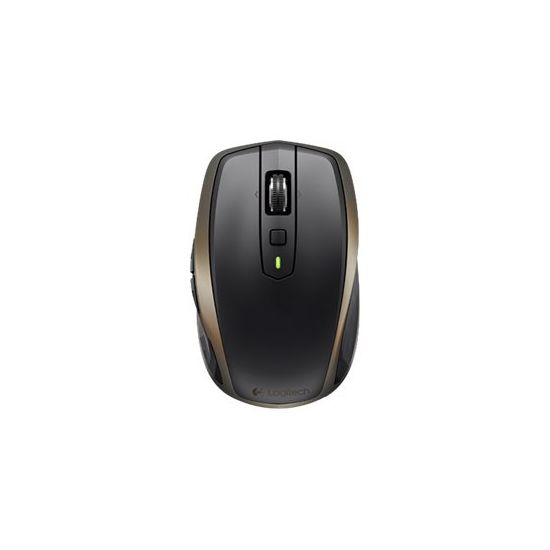Logitech MX Anywhere 2 - mus - Bluetooth, 2.4 GHz - sort