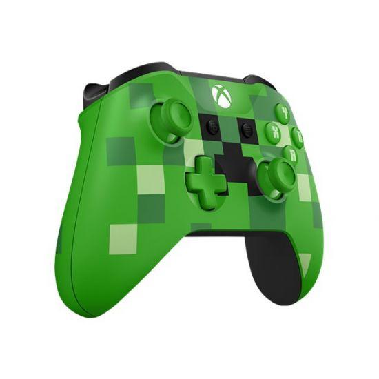 Microsoft Xbox Wireless Controller - Minecraft Creeper - gamepad - trådløs - Bluetooth