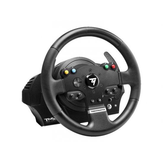 ThrustMaster TMX Force Feedback - rat og pedalsæt - kabling