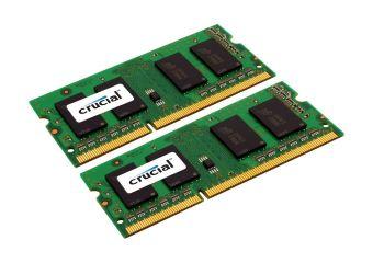 Crucial &#45 8GB: 2x4GB &#45 DDR3L &#45 1600MHz &#45 SO DIMM 204-PIN