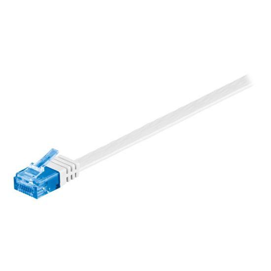 MicroConnect netværkskabel - 15 m - hvid