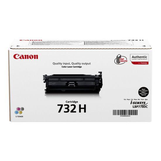 Canon 732 BK H - høj kapacitet - sort - original - tonerpatron