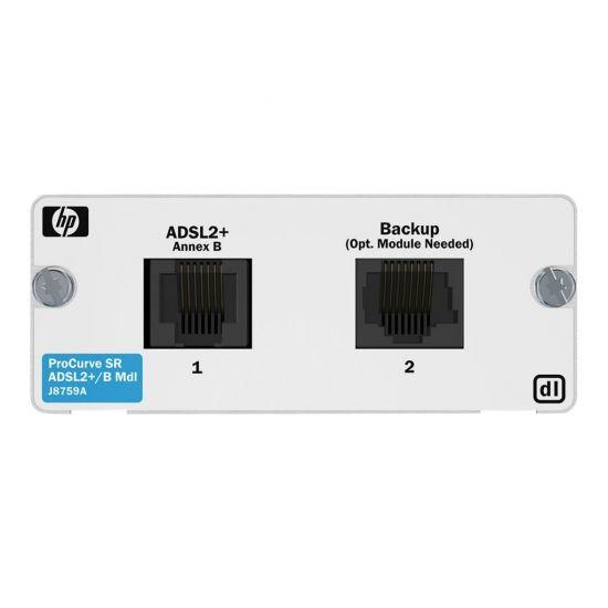 HPE 1-port ADSL2+ Annex B Module - DSL-modem