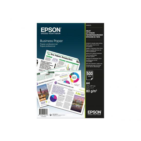 Epson Business Paper - almindeligt papir - 500 ark - A4 - 80 g/m²