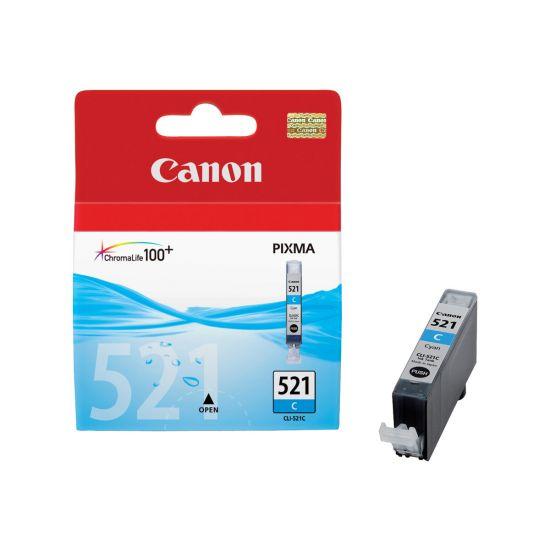 Canon CLI-521C - cyan - original - blækbeholder