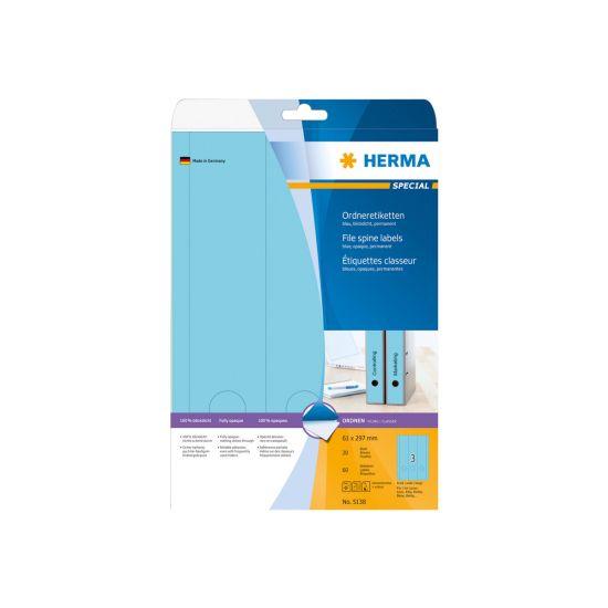 HERMA Special - uigennemsigtige mappemærkater - 60 etikette(r)