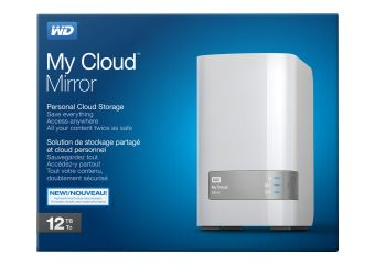WD My Cloud Mirror Gen 2 WDBWVZ0120JWT