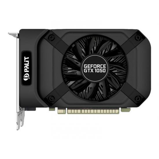 Palit GeForce GTX 1050 StormX &#45 NVIDIA GTX1050 &#45 3GB GDDR5 - PCI Express 3.0 x16