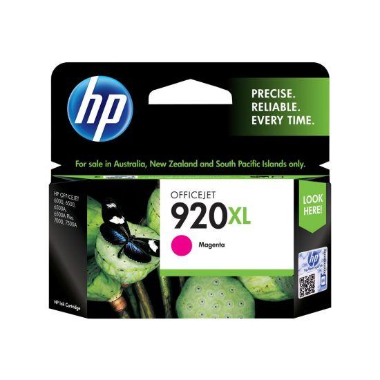 HP 920XL - Højtydende - magenta - original - blækpatron