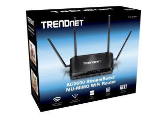 TRENDnet TEW-827DRU AC2600 StreamBoost MU-MIMO WiFi Router