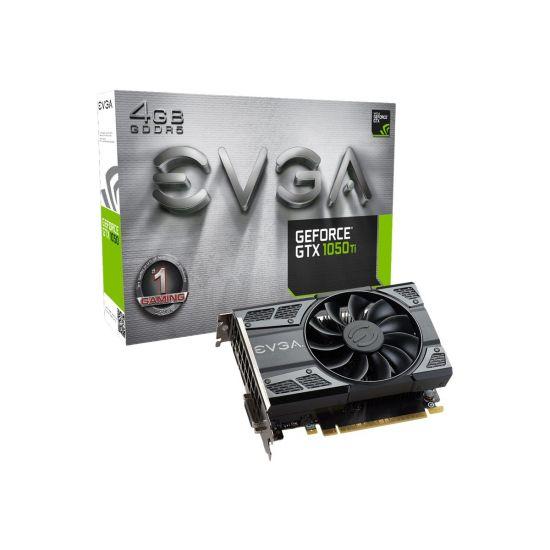 EVGA GeForce GTX 1050 Ti Gaming &#45 NVIDIA GTX1050 &#45 4GB GDDR5 - PCI Express 3.0 x16