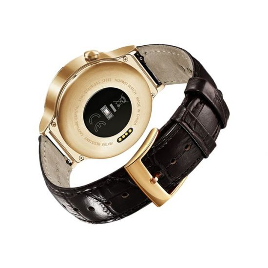 Huawei Watch Elite - roseguld rustfrit stål - smart ur med rem - brun - 4 GB