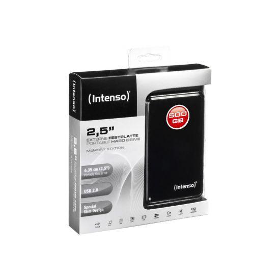 Intenso Memory Station &#45 500GB - USB 2.0 - 4 pin USB Type A