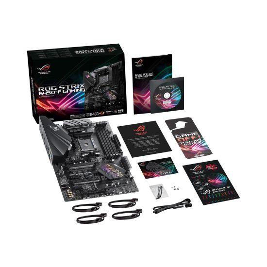 ASUS ROG STRIX B450-F GAMING - bundkort - ATX - Socket AM4 - AMD B450