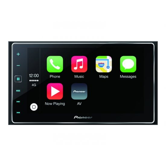 Pioneer AppRadio 4 SPH-DA120 - digital modtager - display 6.2 tommer - in-dash enhed - Double-DIN