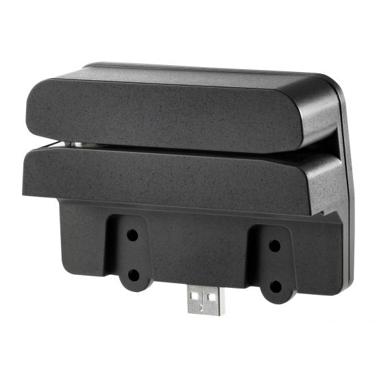 HP Retail Integrated Dual-Head MSR - magnetisk kortlæser - USB