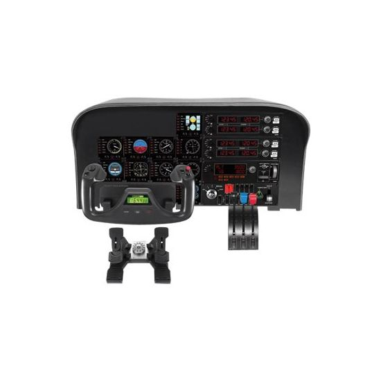 Logitech Flight Radio Panel - instrumentpanel til flysimulator - kabling