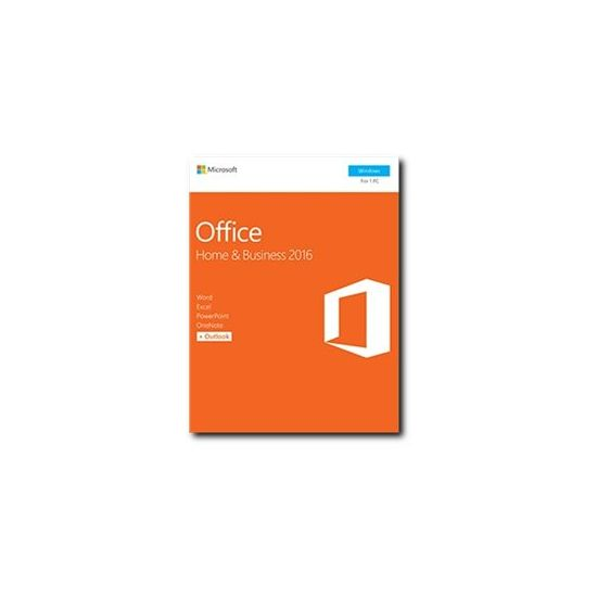 Microsoft Office Home and Business 2016 - bokspakke - 1 PC