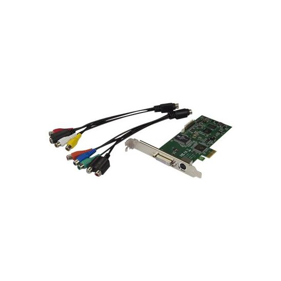StarTech.com PCIe HDMI Video Capture Card - HDMI, DVI, Component - 1080p60 - videooptagelsesadapter - PCIe 2.0