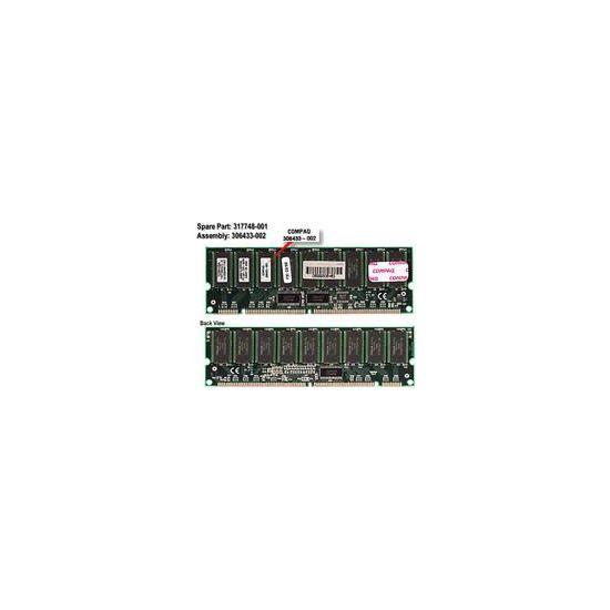 HPE &#45 512MB &#45 SDRAM &#45 100MHz &#45 DIMM 168-PIN - ECC