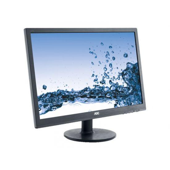 """AOC Value E2460SD2 &#45 LED-Skærm 24"""" TN 1ms - Full HD 1920x1080"""