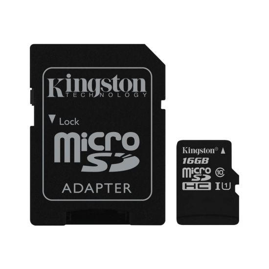 Kingston Canvas Select - flashhukommelseskort - 16 GB - microSDHC UHS-I