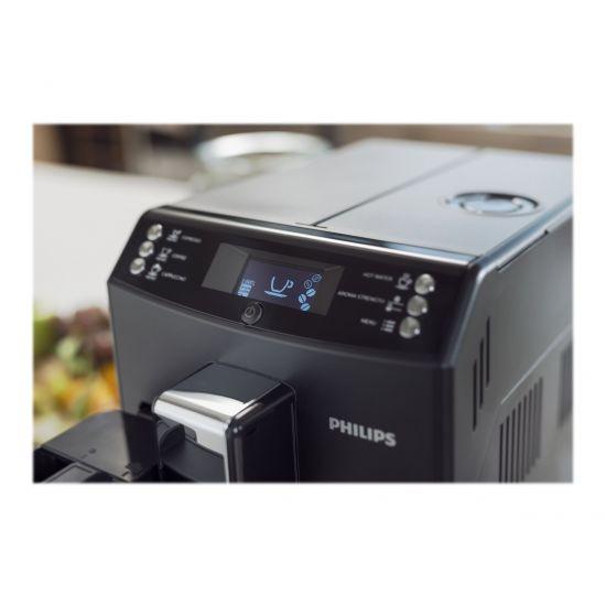 Philips 3100 series EP3550 - automatisk kaffemaskine med capuccinatore - sort