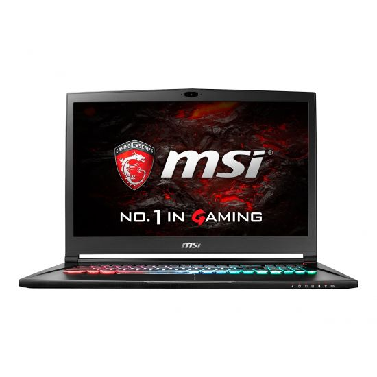 MSI GS73VR 6RF 017NE Stealth Pro - 16GB Core i7 17.3´´ GF-GTX1060 6GB Børstet metal sort