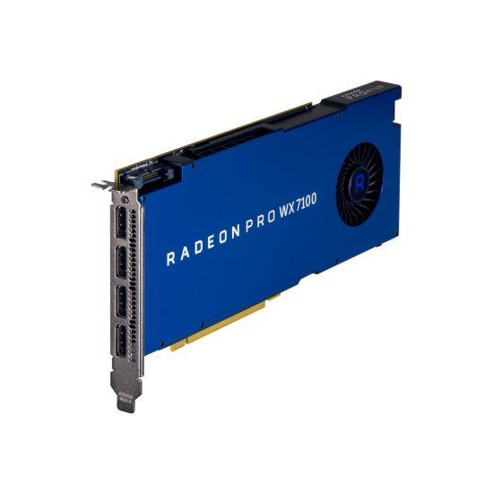 AMD Radeon Pro WX 7100 &#45 AMD Radeon ProWX7100 &#45 8GB GDDR5 - PCI Express 3.0 x16