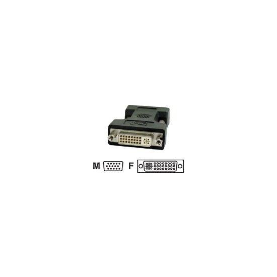 Deltaco display-adapter -  DVI Hun til VGA han
