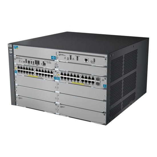 HPE 8206 zl Switch - switch - Administreret - monterbar på stativ - med HP E8200 zl Switch Premium License