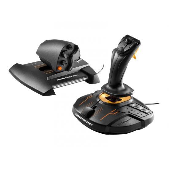 ThrustMaster T.16000M FCS Hotas - joystick og speeder - kabling