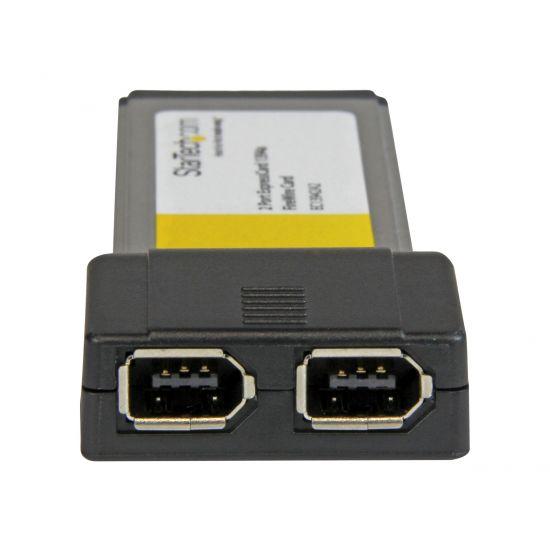 StarTech.com 2 Port ExpressCard 1394a FireWire Laptop Adapter Card