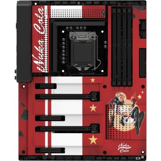 NZXT N7 Z370 Nuka-Cola Cover Limited Edition