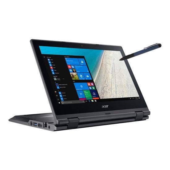 """Acer TravelMate Spin B1 B118-RN-P43Q - Intel Pentium N4200 / 1.1 GHz - 4 GB DDR3L - 128 GB SSD SATA 6Gb/s - Intel HD Graphics 505 - 11.6"""" IPS"""