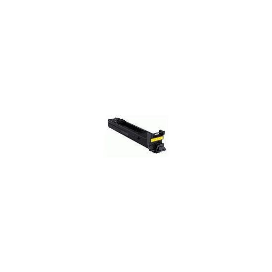 Konica Minolta - høj kapacitet - gul - original - tonerpatron