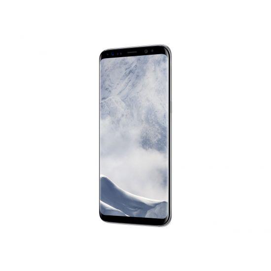 Samsung Galaxy S8 - SM-G950F - polarsølv - 4G HSPA+ - 64 GB - TD-SCDMA / UMTS / GSM - smartphone