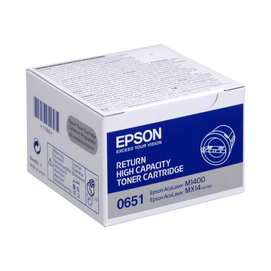 Epson - høj kapacitet - sort - original - tonerpatron - Epson Return Program