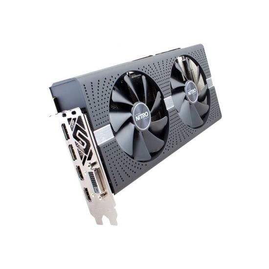 Sapphire NITRO+ RX 580 &#45 AMD Radeon RX580 &#45 4GB GDDR5 - PCI Express 3.0 x16