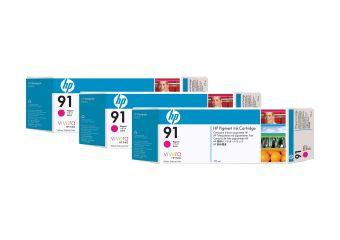 HP 91 3-ink Multipack